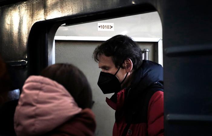 Загруженность московского метро упала на 44%