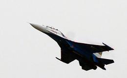 Истребитель Су-27 пропал над Черным морем