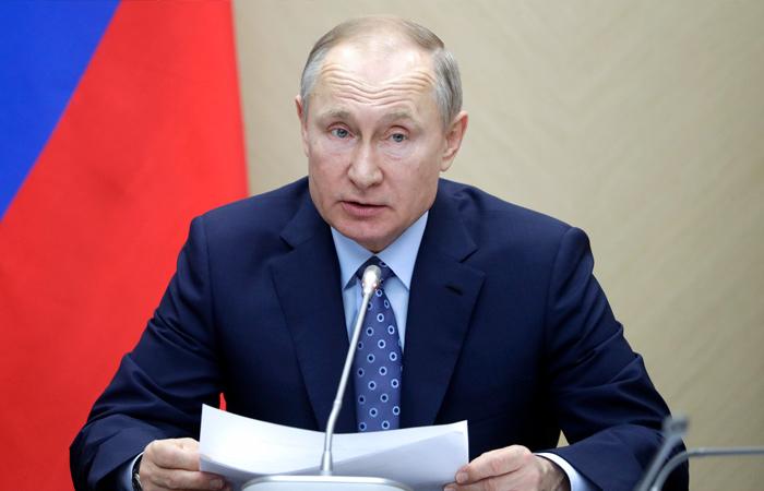 Путин объявил неделю с 30 марта по 5 апреля нерабочей