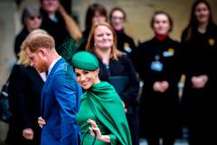 Принц Гарри и Меган Маркл начали отдельную от британской королевской семьи жизнь
