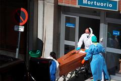 В Испании зафиксировали рекордное количество смертей от COVID-19 за сутки