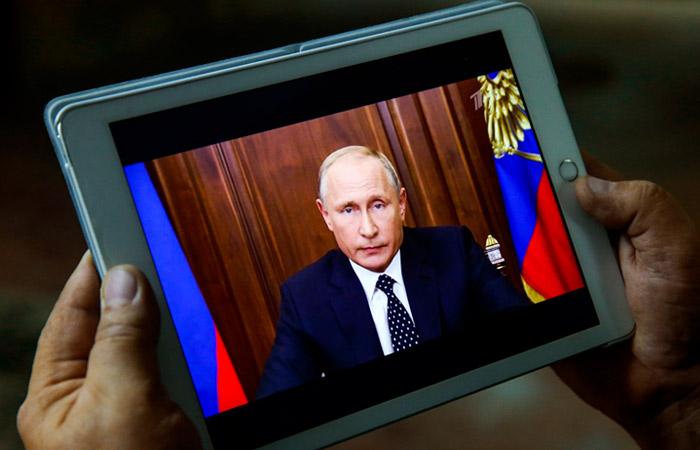 Путин объявил о продлении нерабочей недели в России до 30 апреля
