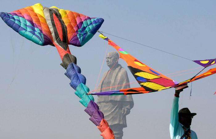 В Индии неизвестные выставили на продажу самую высокую статую в мире