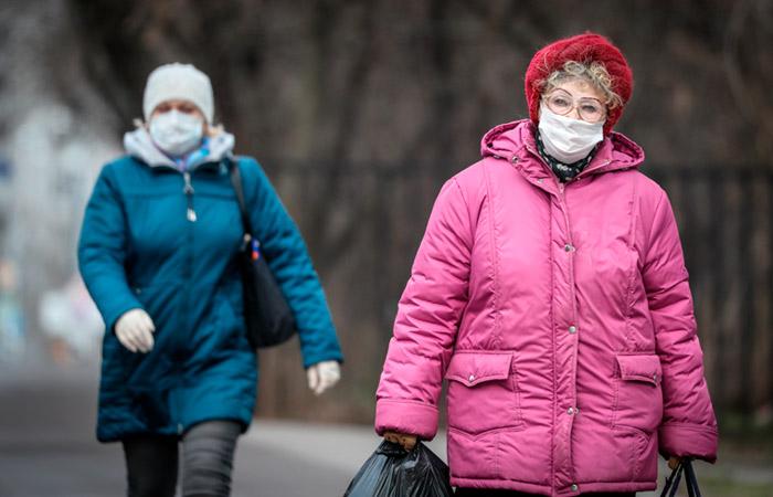 """""""Яндекс"""" зафиксировал большое число людей на улицах Москвы"""