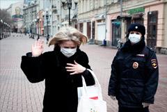 На нарушителей самоизоляции в Москве составили более 400 протоколов