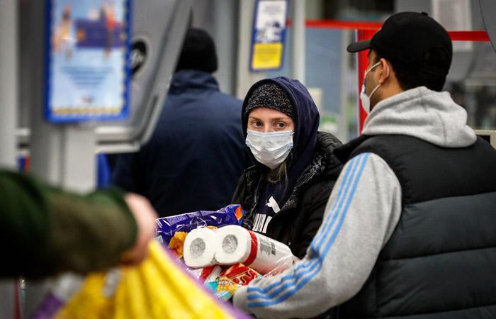 Продажи гипермаркетов за неделю карантина упали на 13%