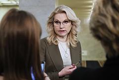 Голикова заявила об устойчивой тенденции роста заболеваемости коронавирусом в РФ