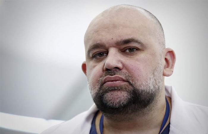 Главврач больницы в Коммунарке выходит из изоляции после отрицательных тестов на COVID-19
