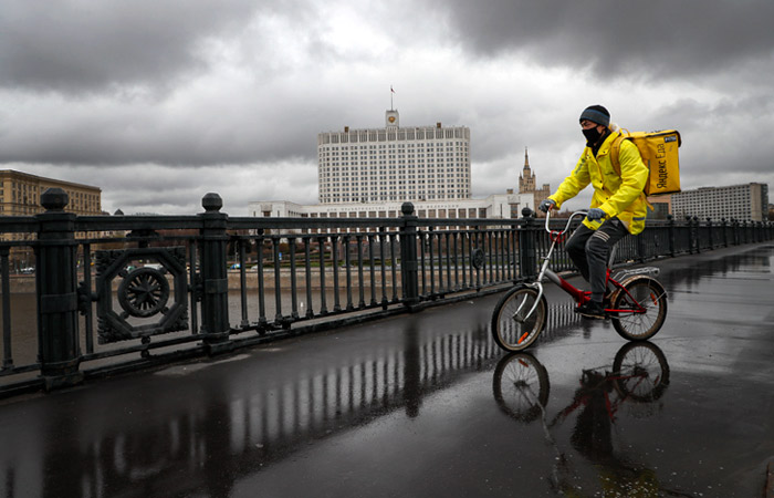 В мэрии Москвы назвали число курьеров, работающих в столице в период самоизоляции
