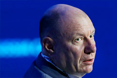 Владимир Потанин стал богатейшим российским бизнесменом по версии Forbes