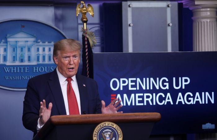 Трамп представил трехэтапный план отмены антивирусных ограничений
