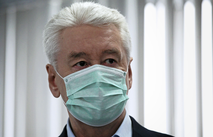 Собянин отметил, что Москва идет не по самому плохому сценарию по коронавирусу
