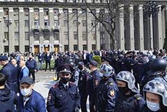 Жители Владикавказа устроили протесты против самоизоляции