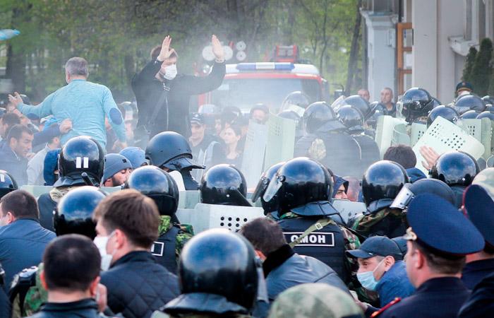 Во Владикавказе возбудили дело о насилии против полицейских во время акции протеста