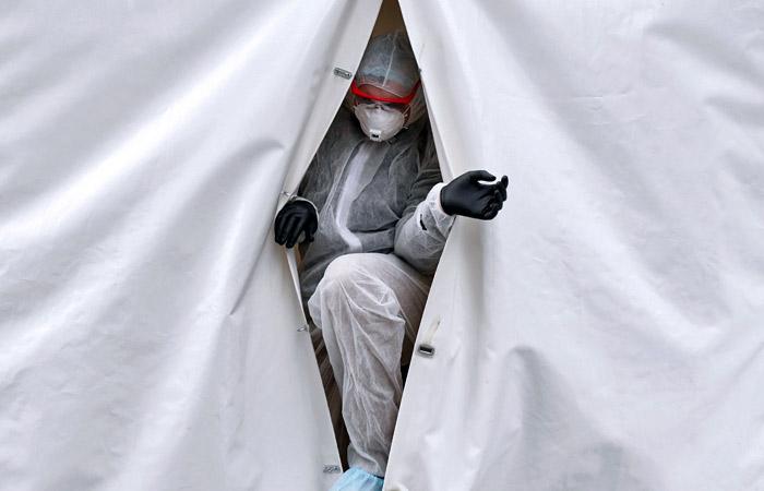 Москва готовится развернуть временные госпитали на 10 000  мест