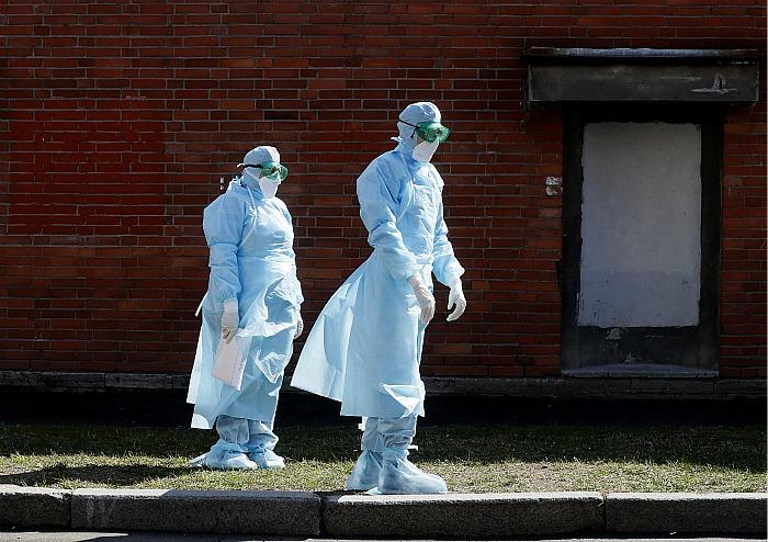 В России выявлено еще 7933 заболевших коронавирусом