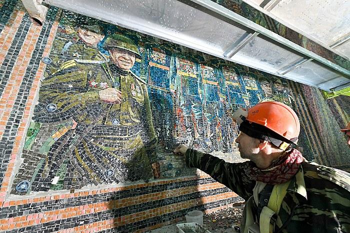В РПЦ заявили, что мозаики с Путиным не было в главном военном храме