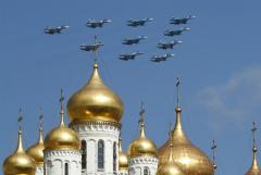 Репетиция воздушного парада в Москве состоится 4 мая