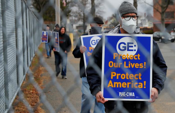 General Electric сократит около 13 тыс. сотрудников авиационного подразделения