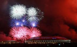 Салют в честь Дня Победы прошел в Москве