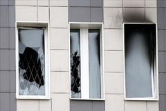 При пожаре в Петербурге погибли пациенты из одной палаты