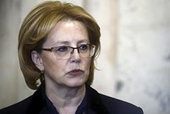 Скворцова заявила о достижении плато в ситуации с коронавирусом в РФ