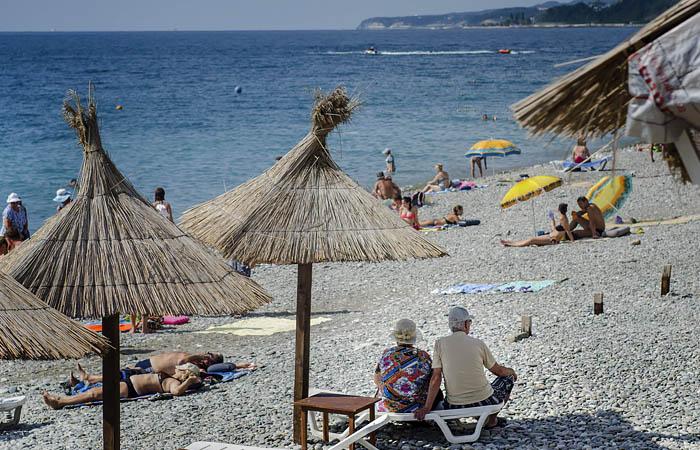 На пляжах Сочи введут социальное дистанцирование
