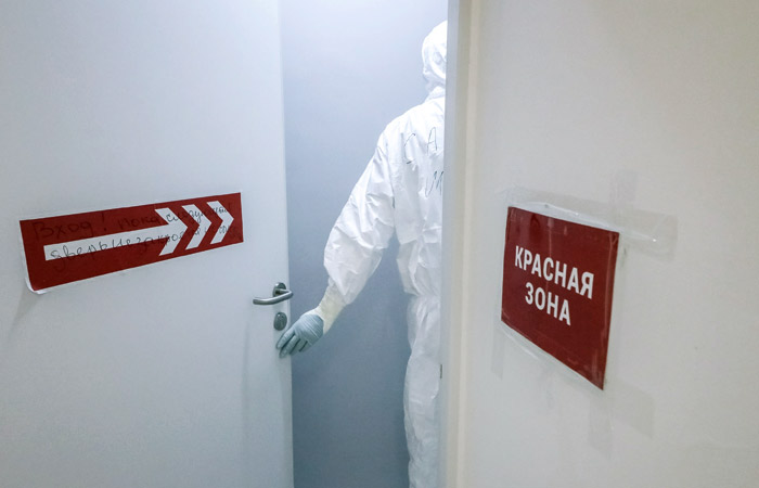 В России коронавирус за сутки нашли еще у 8 849 человек