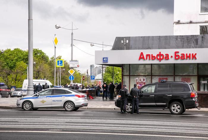 """Задержанный за нападение на """"Альфа-банк"""" в Москве признал вину"""