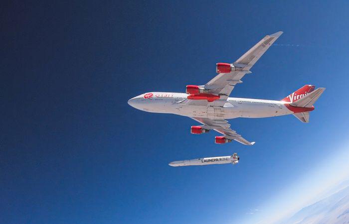 Первое испытание ракеты-носителя компании Virgin Orbit закончилось неудачей