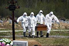 Брюн заявил о росте смертности в России в сравнении с прошлым годом