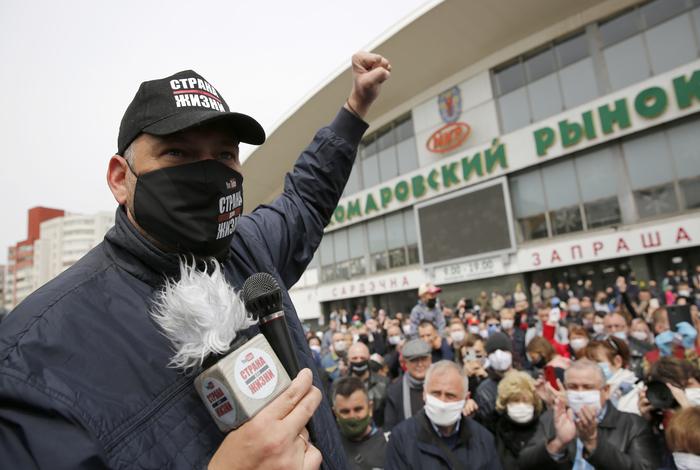 В Белоруссии вновь задержан блогер Тихановский, планировавший выдвигаться в президенты