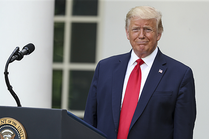 """Трамп вновь пообещал признать  """"Антифа"""" террористической организацией"""