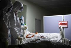 Еще 61 пациент с коронавирусом скончался в Москве