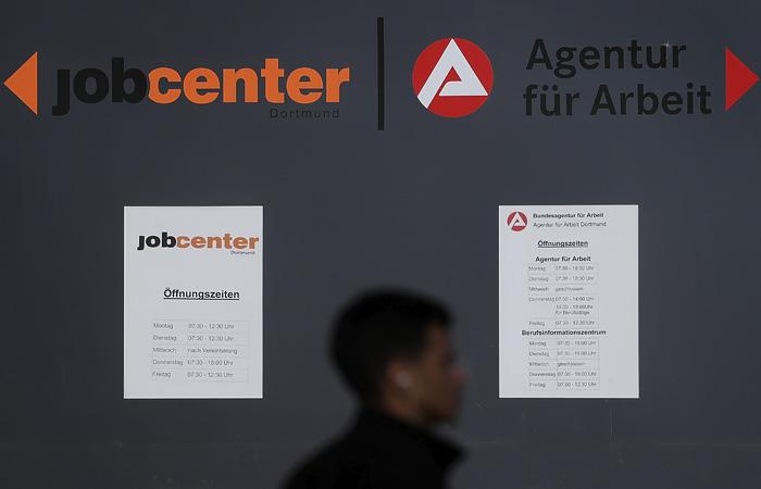 Безработица в Германии в мае достигла четырехлетнего максимума