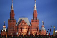 Первую репетицию парада в Москве перенесли с 4 на 14 июня