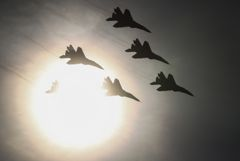 Россия поставила Сирии новую партию истребителей МиГ-29