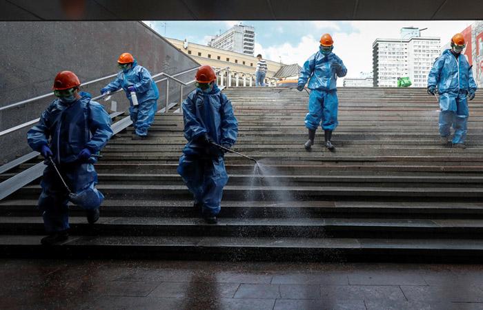 Число новых случаев COVID-19 в Москве достигло минимума за полтора месяца