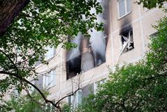 """""""Мосгаз"""" заявил, что в загоревшейся квартире в Чертанове газ не взрывался"""