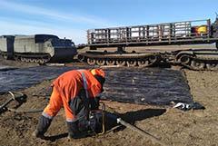 Для откачки разлива топлива в районе Норильска могут построить трубопровод