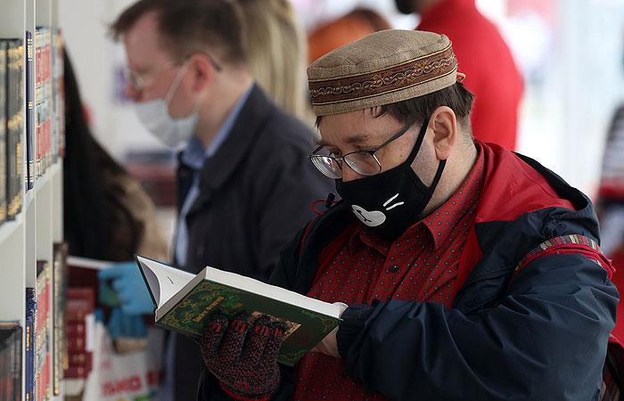 В Москве после коронавирусной паузы открылся масштабный книжный фестиваль