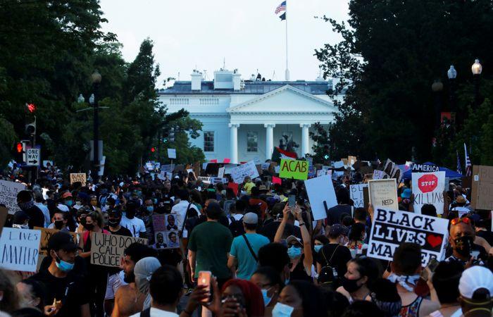 Число протестующих в Вашингтоне не оправдало ожиданий Трампа