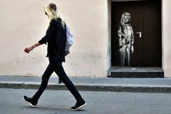 В Италии нашли пропавшее граффити Бэнкси, посвященное терактам в Париже