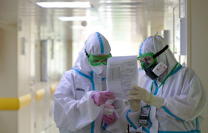 В России за сутки выявлены 8 706 случаев COVID-19