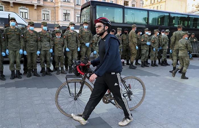 В Москве 24 июня после парада перекроют несколько улиц