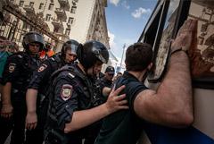 В СПЧ доложат Путину об избиениях протестующих полицейскими в Москве
