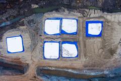 Концентрация вредных веществ в озере под Норильском после разлива топлива близка к норме