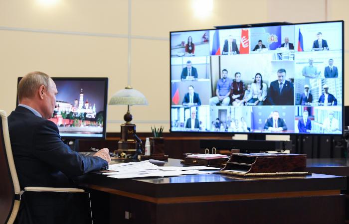 Источник назвал дату обращения Путина по поводу поправок в Конституцию