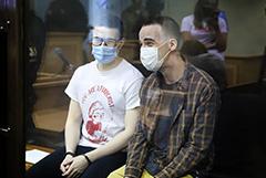 """Обвиняемые по делу о петербургской ячейке """"Сети"""" получили 7 и 5,5 года колонии"""