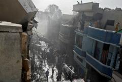 Крушение пассажирского самолета в Пакистане объяснили человеческим фактором
